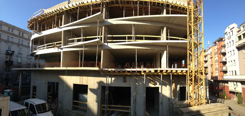 Budynek Wielorodzinny Casa Verona 100% prac żelbetowych