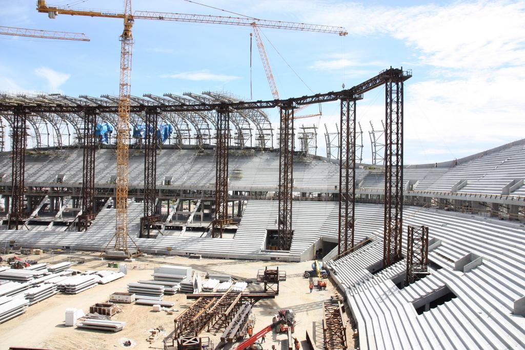 Consolis Polska – Produkcja płyt audytoryjnych trybun stadionu Baltic Arena