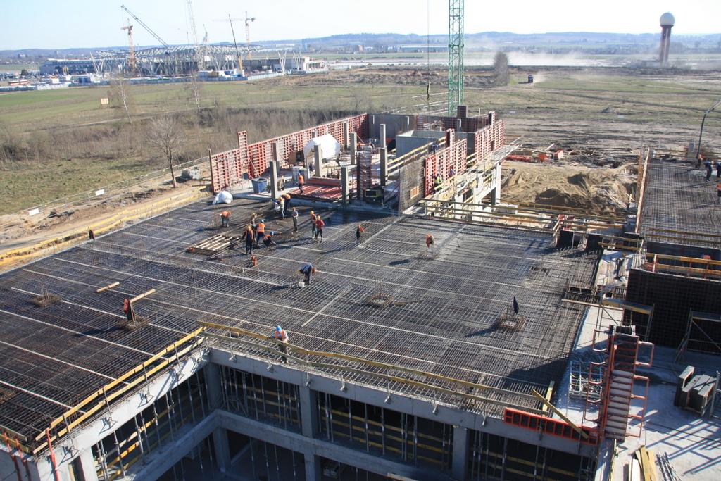 BCB Gdańsk 100% prac żelbetowych